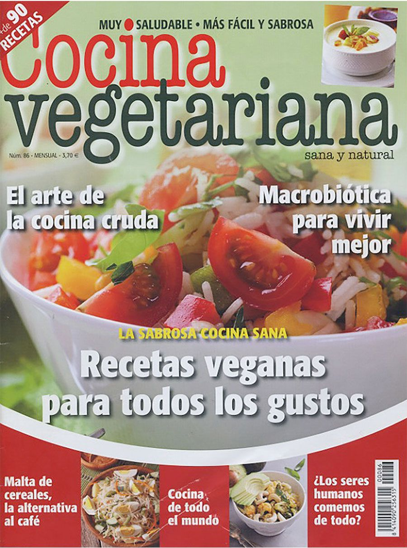Revista Cocina Vegetariana Nº 86